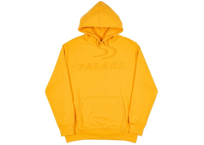 Palace P-A-L Hood Citrus Yellow