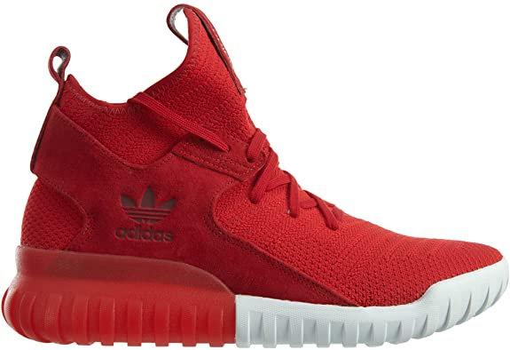 Adidas Tubular X Primeknit Red