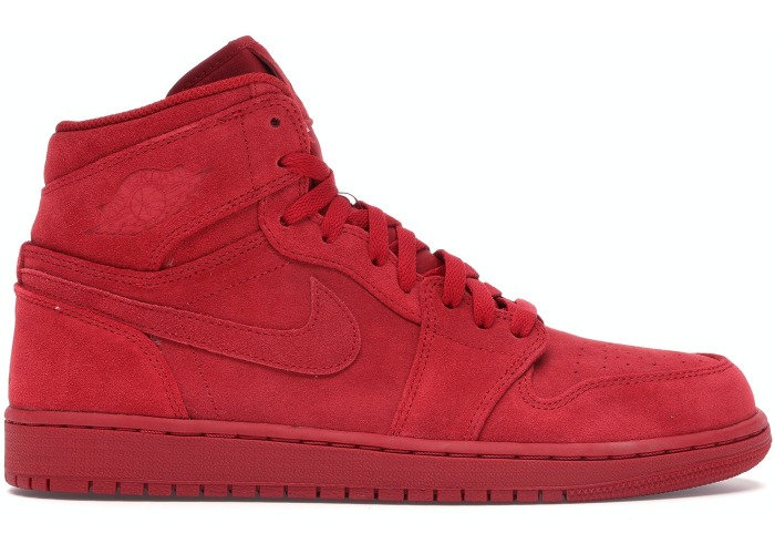 Air Jordan 1 High Red Suede