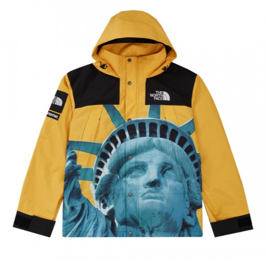 Supreme x The North Face Liberty Jacket Yellow