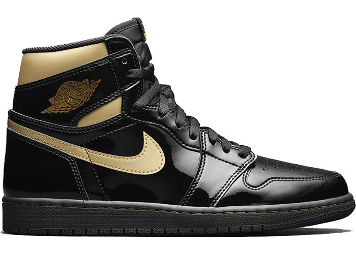 Air Jordan 1 High Metallic Gold