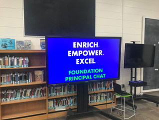 Principal Chat - Learn About Our New Initiatives for the 2019-2020 School Year