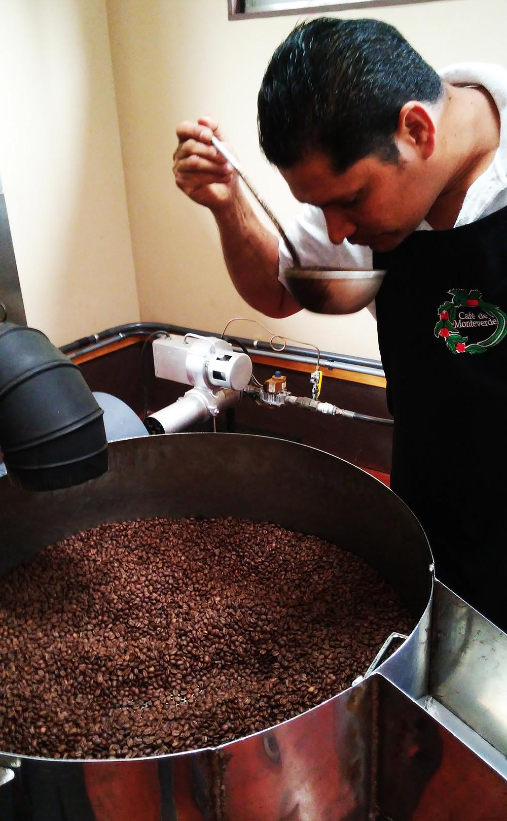 Proceso de Tostado del café