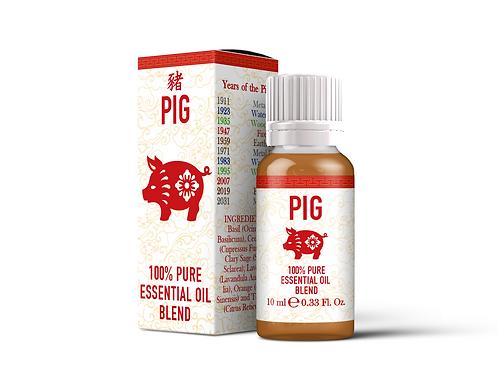 Pig  - Chinese Zodiac Essential Oil Blend | Mystix London