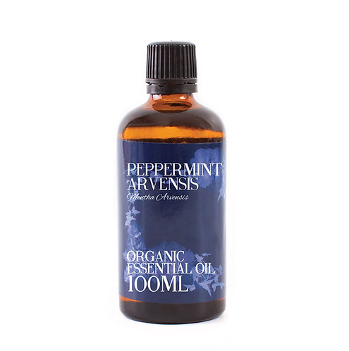 Peppermint Arvensis Organic Essential Oil