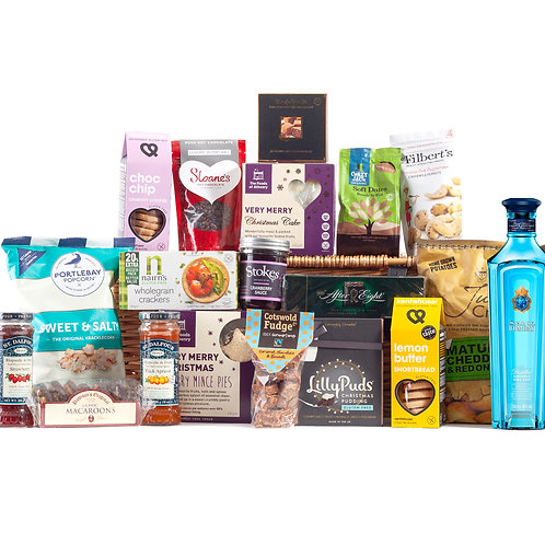 Wonderful Christmas Time Hamper - Star of Bombay Gin