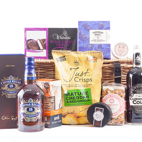 Chivas Regal Whisky Hamper Deluxe