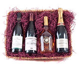 French Wine Gift Hamper Basket by Wickers Gift Baskets