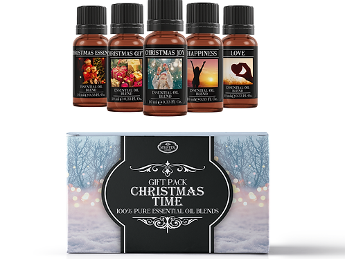 Christmas Time - Essential Oil Blend Gift Pack | Mystix London