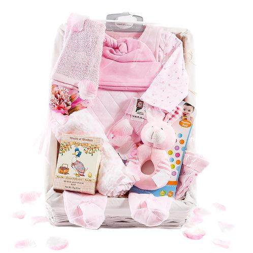 Wickers Just For Baby Premium Hamper - GIRL