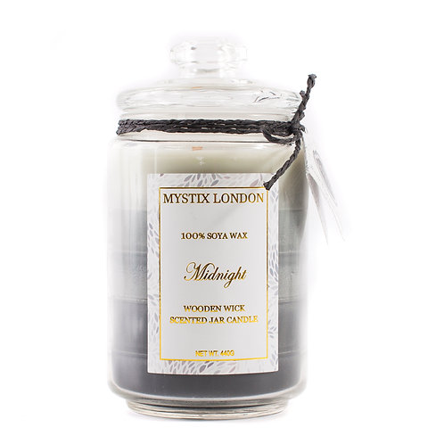 Midnight | Scented Oil Blend Candle | Mystix Candles