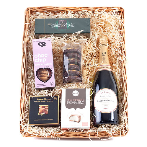 Champagne Gluten Free Hamper with Laurent Perrier