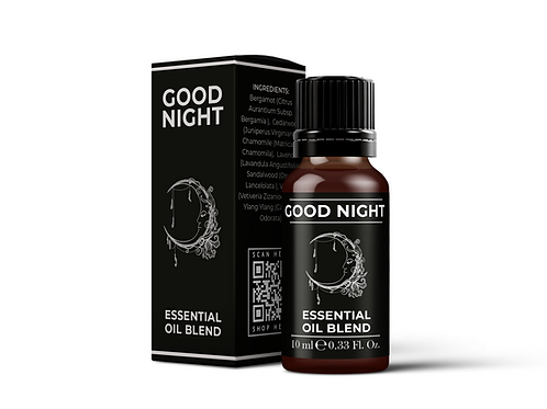 Good Night - Essential Oil Blends | Mystix London