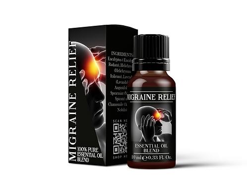 Migraine Relief - Essential Oil Blends | Mystix London