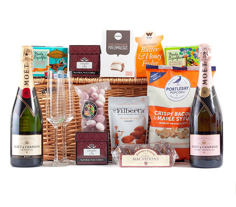 Champagne Gluten Free Hamper Deluxe with Moet & Chandon