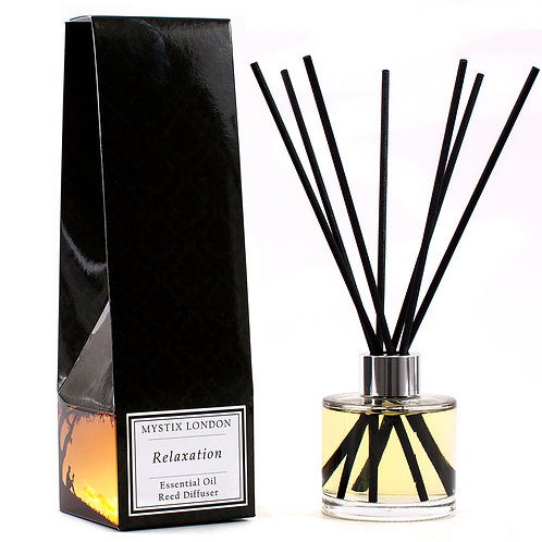 Relaxation - Essential Oil Blend Reed Diffuser | Mystix London