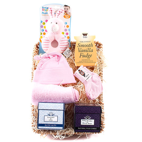 Wickers Mother & Baby Hamper - GIRL
