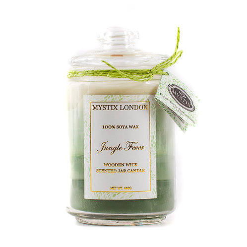 Jungle Fever | Scented Oil Blend Candle | Mystix Candles