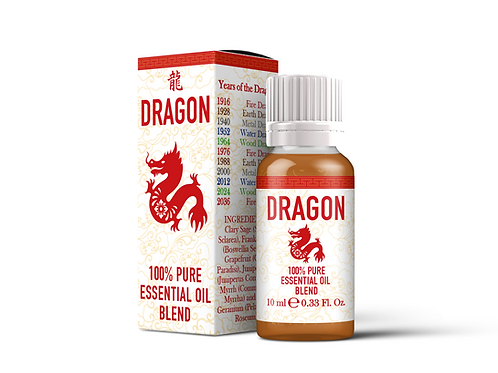 Dragon  - Chinese Zodiac Essential Oil Blend | Mystix London