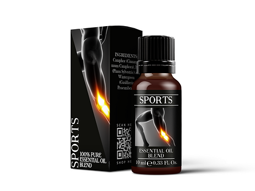 Sports  - Essential Oil Blends | Mystix London