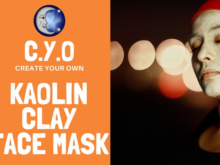 Create Your Own - Kaolin Face Mask