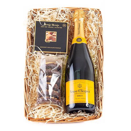 Veuve Clicquot Champagne Gluten Free Mini Hamper