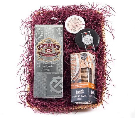 Whiskey Hamper with Chivas Regal Whiskey