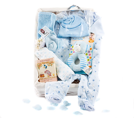 Wickers Just For Baby Premium Hamper - BOY