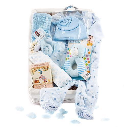 Wickers Just For Baby Premium Hamper - BOY