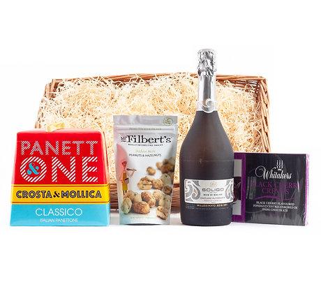 Prosecco & Panettone Hamper Premium