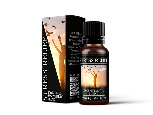 Stress Relief - Essential Oil Blends | Mystix London