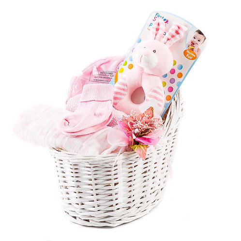 Wickers Just For Baby Hamper - GIRL