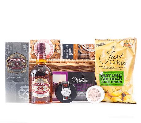 Whiskey Hamper Premium with Chivas Regal Whiskey