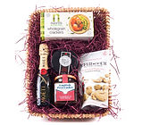 Evening Fizz Gift Hamper Basket by Wickers Gift Baskets