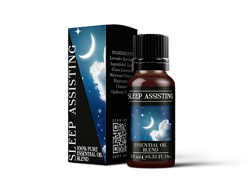Sleep Assisting - Essential Oil Blends | Mystix London