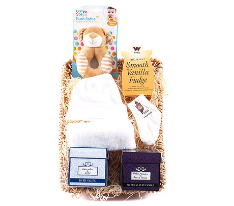 Wickers Mother & Baby Hamper - NEUTRAL