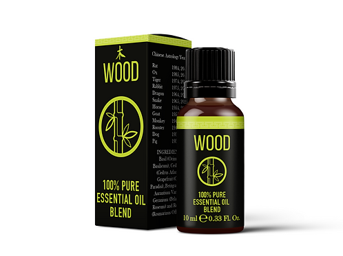 Chinese Wood Element  - Essential Oil Blends | Mystix London