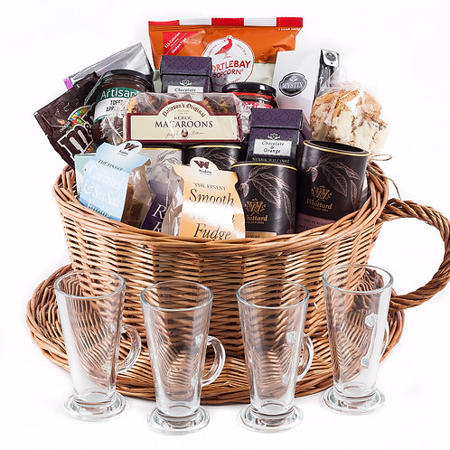 Hot Chocolate Hamper Deluxe - Ultimate Collection