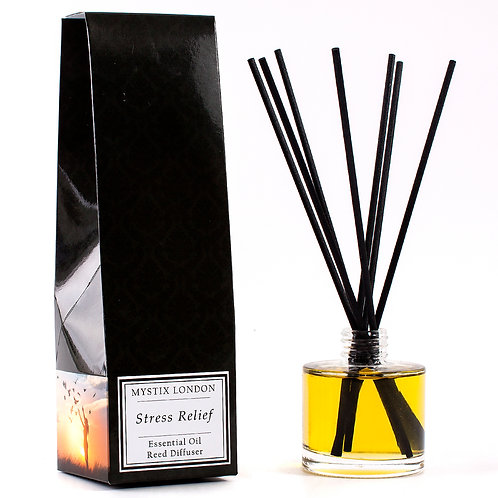 Stress Relief - Essential Oil Blend Reed Diffuser | Mystix London