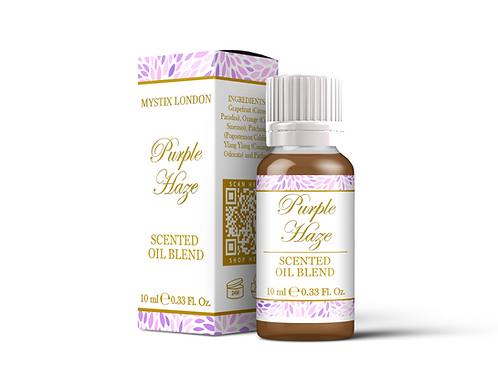 Purple Haze - Scented Oil Blend | Mystix London