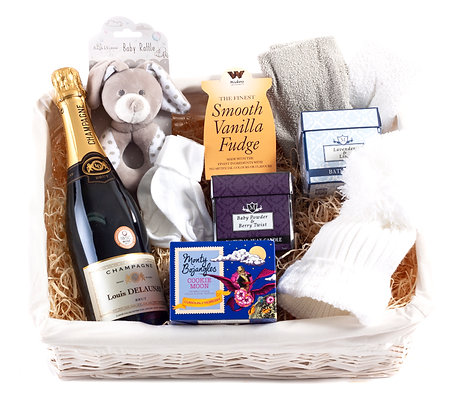 Wickers Mother & Baby Premium Hamper - NEUTRAL