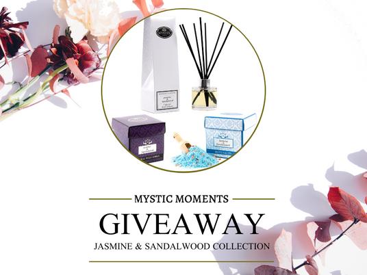 Giveaway - Jasmine & Sandalwood Collection