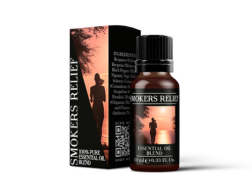 Smokers Relief - Essential Oil Blends | Mystix London
