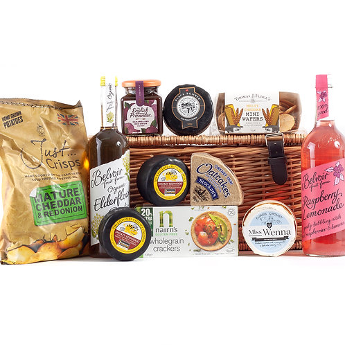 Cheese Hamper Premium | Non Alcoholic