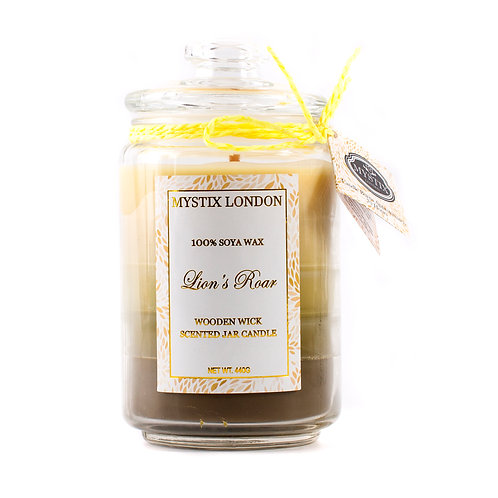 Lion's Roar | Scented Oil Blend Candle | Mystix Candles