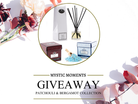 Giveaway - Patchouli & Bergamot Collection