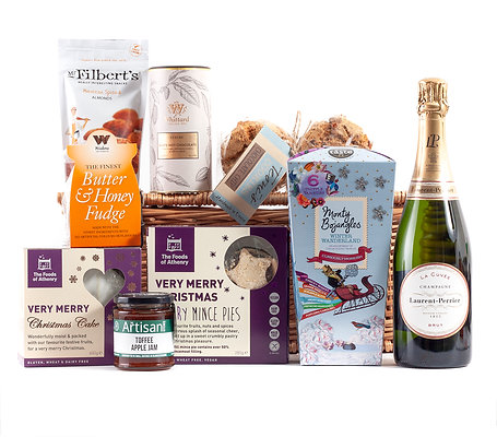 Just Because It's Christmas Hamper - Laurent Perrier Brut Champagne 75cl