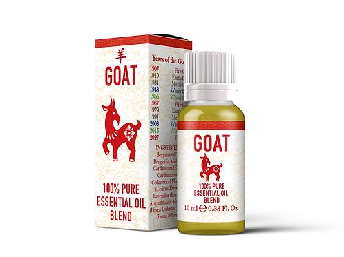 Goat - Chinese Zodiac Essential Oil Blend | Mystix London