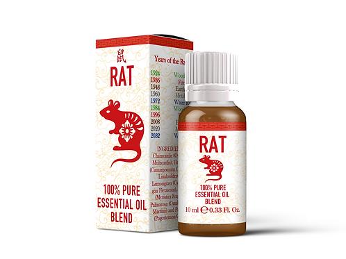 Rat  - Chinese Zodiac Essential Oil Blend | Mystix London