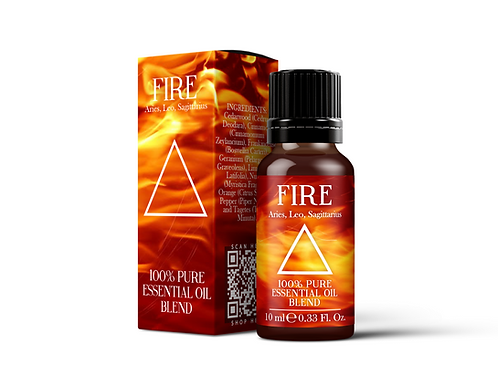 The Fire Element  - Essential Oil Blends | Mystix London